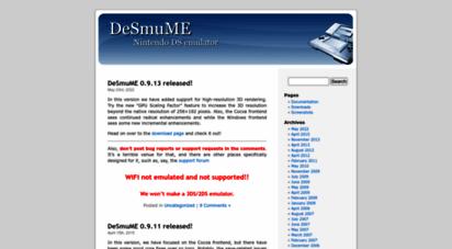 desmume.org - desmume
