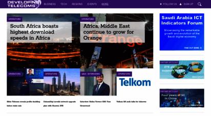 developingtelecoms.com - developing telecoms  telecom news portal for emerging markets - developing telecoms