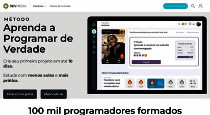 devmedia.com.br - devmedia  plataforma para programadores