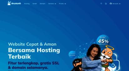dewaweb.com - web hosting indonesia terbaik, iso 27001 certified  dewaweb