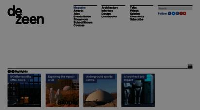 dezeen.com - dezeen  architecture and design magazine