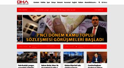 dha.com.tr - dha doğan haber ajansı - son dakika haberleri - flaş haber - güncel haberler - internet haber - doğru haber - sıcak haber