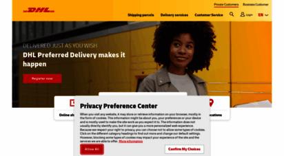 dhl.de - dhl privatkunden - paketversand und paketempfang mit dhl