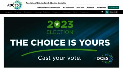 diabeteseducator.org - american ssociation of diabetes educators - american ssociation of diabetes educators