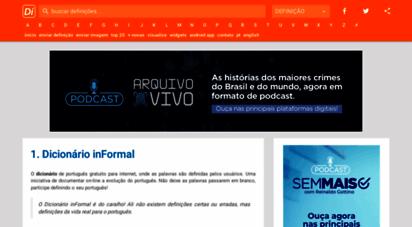 dicionarioinformal.com.br -
