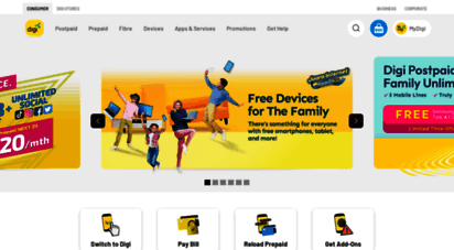 digi.com.my - digi  mobile plans, phones & the widest 4g lte network