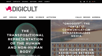 digicult.it - home : digicult  digital art, design and culture