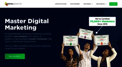 digitalmarketer.com - digitalmarketer  marketing tools & training