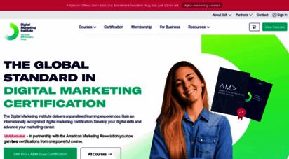 digitalmarketinginstitute.com - international digital marketing traning & courses  dmi