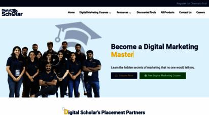 digitalscholar.in - best digital marketing training institute in chennai