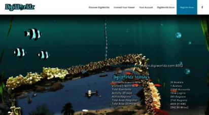 digiworldz.com - digiworldz  a 3d virtual world