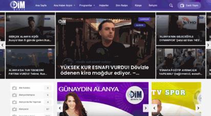 dimtv.tv - dim tv - dim web tv - alanya  alanyanın dünyaya açılan kapısı.