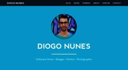 diogonunes.com - diogo nunes  homepage