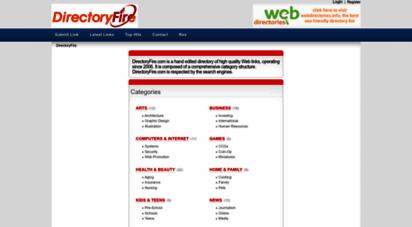 directoryfire.com - directoryfire general web directory