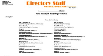 directorystaff.com - directory staff web directory