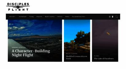disciplesofflight.com - disciples of flight - aviation articles, photos, and videos