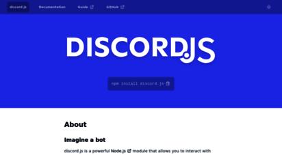 discord.js.org