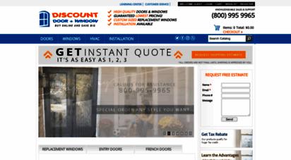 discountdw.com - replacement windows and doors in san diego and beyond - discount door and window