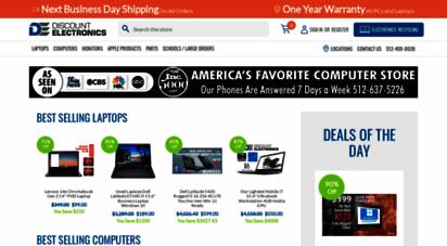 discountelectronics.com - used computers, laptops, monitors