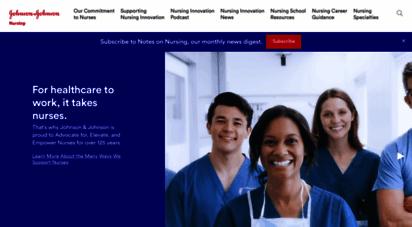 discovernursing.com - johnson & johnson: empowering nurse-led innovation to transform health