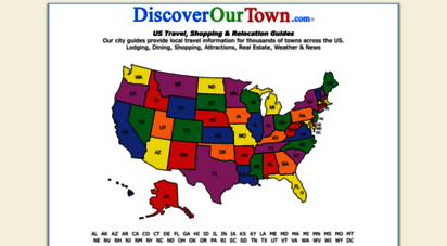 discoverourtown.com - local city guide, relocation and travel, restaurants, shopping, events - discover our town
