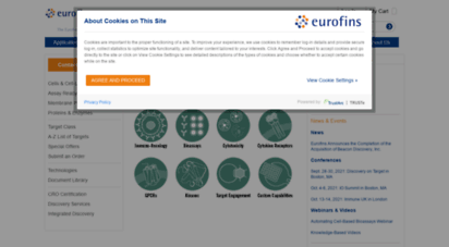 discoverx.com - discoverx solutions for drug discovery -