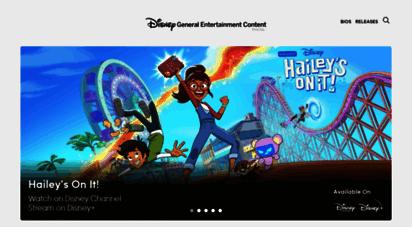 disneyabcpress.com - disney general entertainment content press