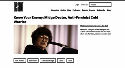 dissentmagazine.org - dissent magazine