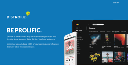 distrokid.com - upload & sell your music on itunes, spotify, amazon and google play  distrokid