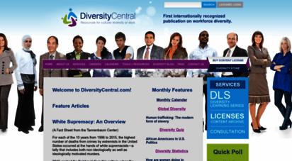 diversitycentral.com - diversitycentral.com: cultural diversity at work