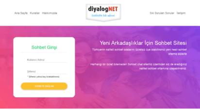 diyalog.net - diyalog.net - sohbet, chat, sohbet odaları, chat siteleri