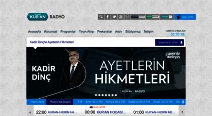 diyanetkuranradyo.com - diyanet kur´an radyo