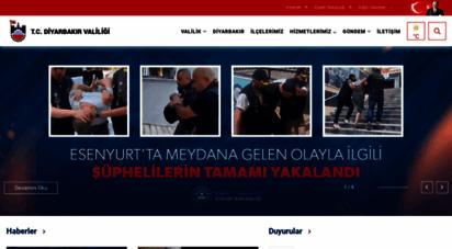 diyarbakir.gov.tr - diyarbakır valiliği