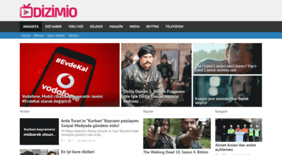 dizimio.com - dizimio  dizi haberleri - magazin - televizyon - sinema