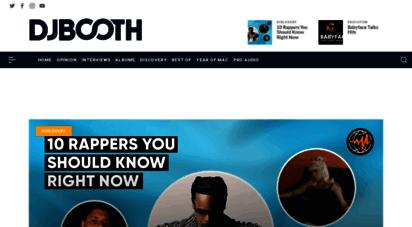 similar web sites like djbooth.net