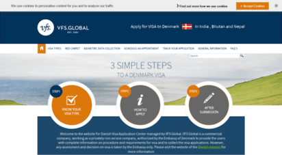 Welcome to Dk vfsglobal co in - Denmark Visa Information