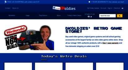 dkoldies.com - retro video game store: buy used games & consoles  dkoldies
