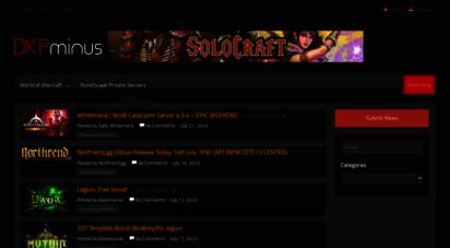 dkpminus.com - dkpminus - world of warcraft news, guides, & addons