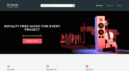 dl-sounds.com - royalty free music from dl sounds