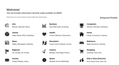 dmoztools.net - dmoz - the directory of the web