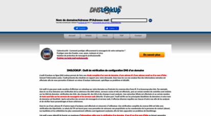 dnslookup.fr