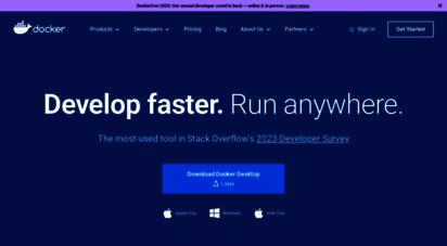 docker.com - empowering app development for developers  docker