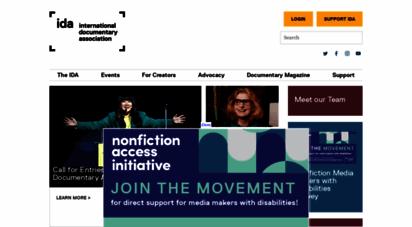 documentary.org - international docmentary ssociation