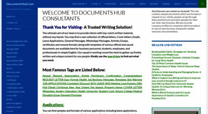 documentshub.com - welcome to docments hub consultants