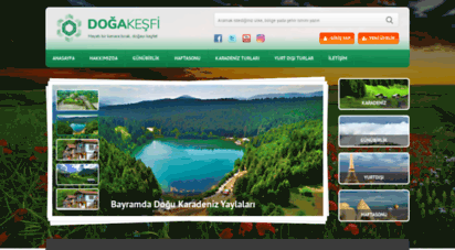 dogakesfi.com - karadeniz artvin yayla turlar / doğa tur ve gezileri