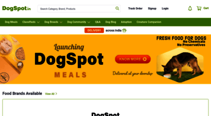 dogspot.in - dogspot.in-online pet supplies store  shop for dog,cat,birds products