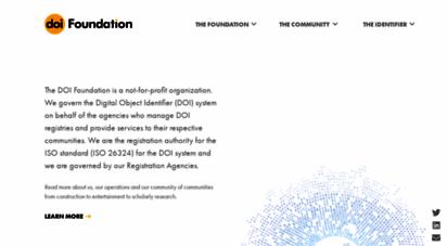 doi.org - digital object identifier system