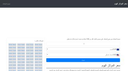 dollarpricetoday.com - اسعار الدولار و اسعار العملات اليوم في مصر بالجنيه المصري egp