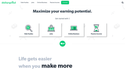 dollarsprout.com - dollarsprout - maximize your earning potential