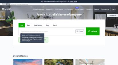 domain.com.au - domain.com.au  real estate & properties for sale & rent